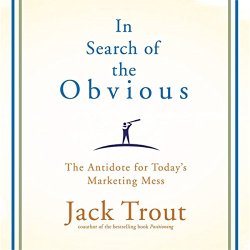 In Search of the Obvious audiobook cover art