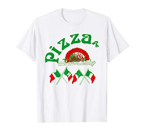 Pizza T-Shirt Logo Pizza Kostüm Italian Verpackung