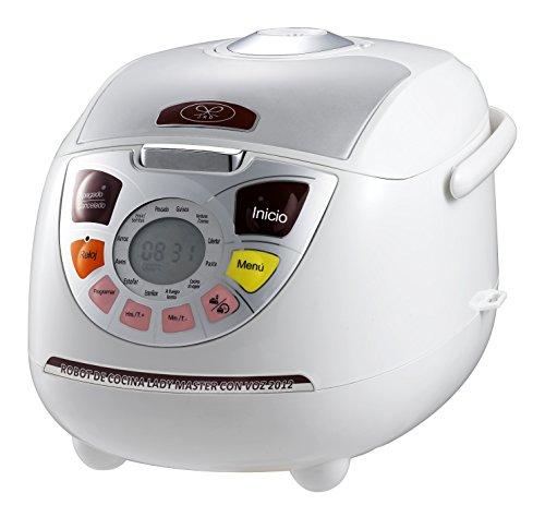 Robot de cocina con voz Lady Master