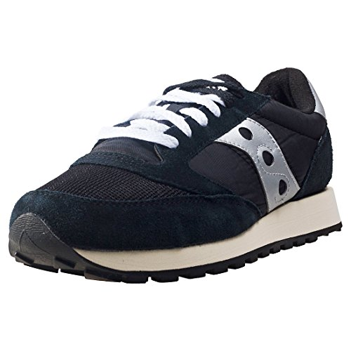Saucony Jazz Original Vintage, Zapatillas de Cross Unisex Adulto, Negro (Black/White), 42 EU
