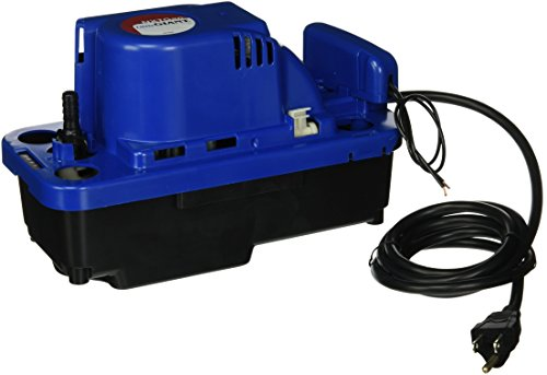 Little Giant 554542 VCMX-20ULS-C 84 GPH 1/30 HP Automatic Condensate Pump with Safety Switch for HVAC, Dehumidifier, Furnace, Air Conditioner