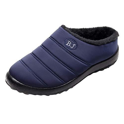 YWLINK Zapatillas Impermeables para Mujer Al Aire Libre Botas De Nieve CáLidas...