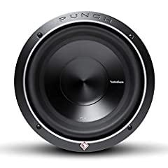 "The P3 Series is Rockford Fosgate's best performing Punch subwoofer delivering reference quality bass in our most popular models The Punch P3D4-10 is a 10"" 4-Ohm DVC (dual voice coil) subwoofer with 500 Watts RMS / 1000 Watts Max power handling and c..."