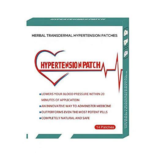 28 Patch Hypertonie Pflaster Hypertonie Patch Blutgefäßreinigung