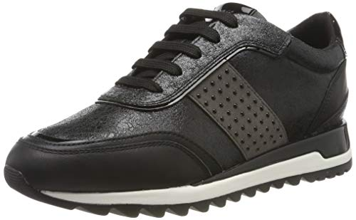 Geox D TABELYA A, Zapatillas Mujer, Negro (Black C9999), 37 EU