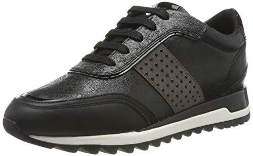 Geox D TABELYA A, Zapatillas Mujer, Negro (Black C9999), 39 EU