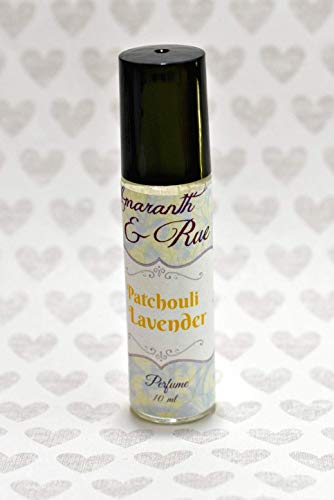 Patchouli Lavender Roll-On Perfume Amaranth & Rue