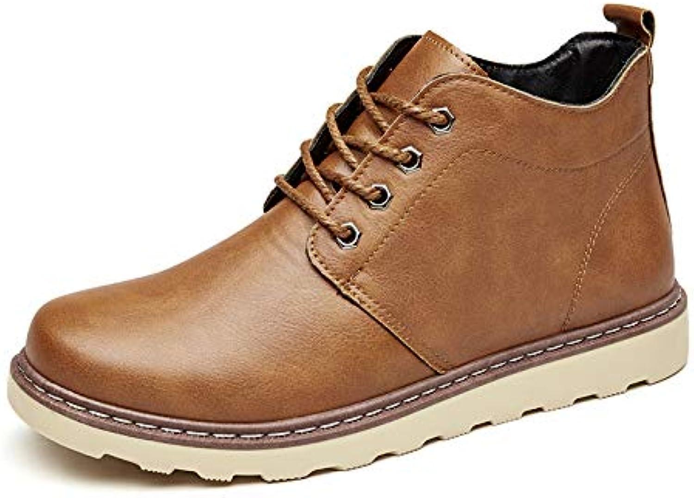 LOVDRAM Boots Men's Men'S Boots Fashion Retro Brock Martin Boots Fashion Men'S shoes Personality Fashion Chelsea Boots