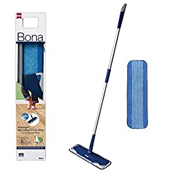 Removes 99% of bacteria - Cleaning pad is washable up to 500 times Recommended by professionals since 1919 Rubberized corners protect furniture Durable telescopic Mop adjusts for a comfortable fit Extra-large Mop head, provides a quick and easy way t...