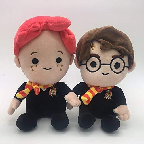 JMHomeDecor Kuscheltier 2 Stück/Neu Harri Potter Ron Plüschtier Soft Stuffed Doll Plüsch Raumdekoration Figur Cartoon