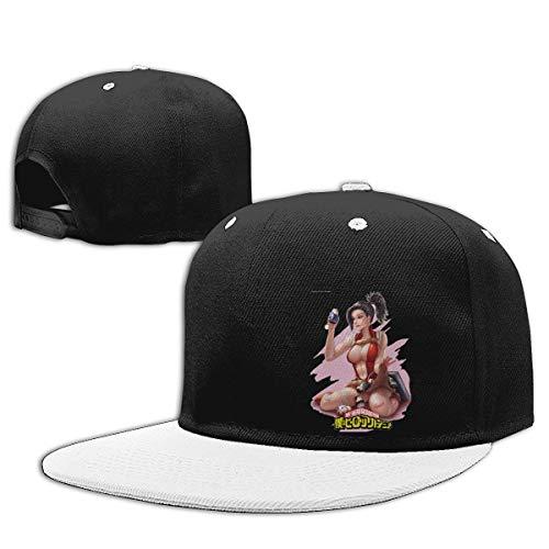 Baseball Caps with My Hero Academia Create Yaoyorozu Momo Hip-Hop Hats Boku No Hero Sombreros y Gorras