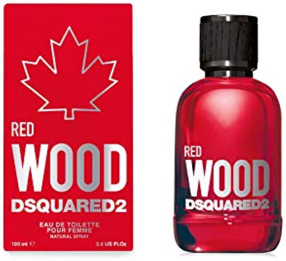 Dsquared2 red wood, eau de toilette,profumo per donna, 50ml 5C32