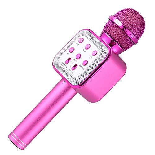 JJZXD La elección del micrófono de Karaoke inalámbrico Bluetooth es Compatible con la mayoría de Las Aplicaciones de Karaoke.