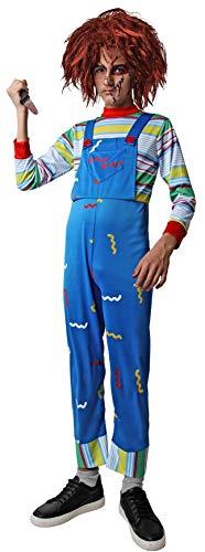 Costumizate! Disfraz de Mueco Asesino para nios Talla 3 o 4 aos Halloween