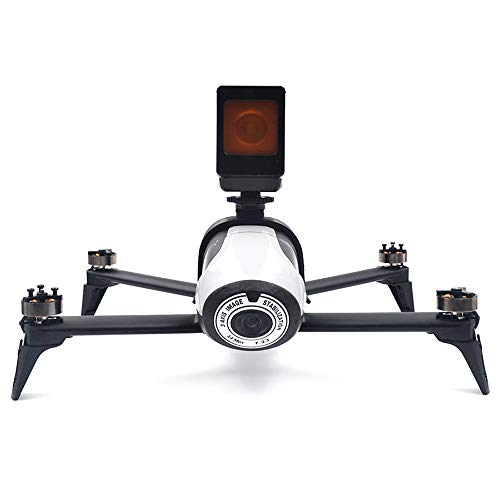 Kingwon Kamerahalterung Halterung für Parrot Bebop 2 FPV Drohne zum Tragen der Kamera Gopro Hero 5 4 3 Support 1/4 Base Screw