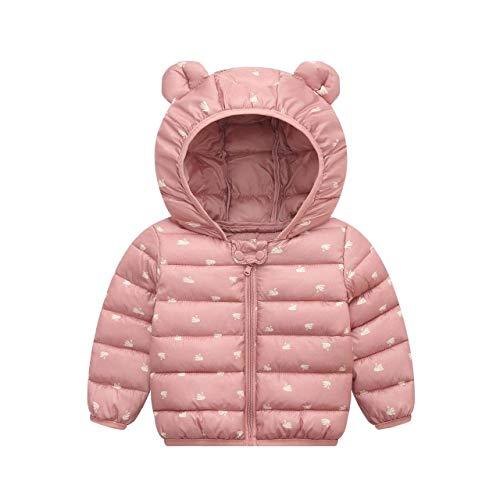 Mode Infantile Manteau Hiver Mignon Oreille Chapeau Vêtements pour Enfants Garçons Filles Bébé Veste en Coton pour Filles Enfants