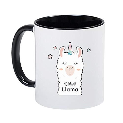 deine Mudder Sprüche Tasse Kaffeetasse - No Drama Lama