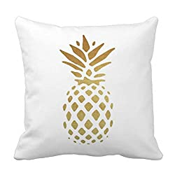 christmas gift guide with pineapple pillow