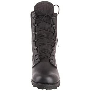 Wellco Men's Hot Weather Jungle Boot,Black,4 M US
