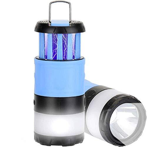 Eamplest Campinglampe, UV Insektenvernichter Moskito Lampe, LED Laterne Moskitoschutz Draussen Multi Kompakte, IPX4 wasserdicht Faltbare und Magnetisch Camping Licht für Angeln, Wandern, Camping