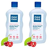 Mee Mee Gentle Baby Bubble Bath (with Cherry Extracts- 500 ml (Pack of 2))