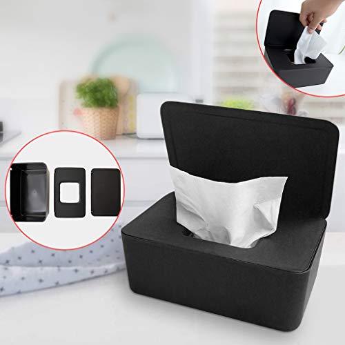 Beverl Trockenes NASS-Tissue Paper Case Care Baby Feuchttücher Servietten Storag Kitchen Dining Bar Accessories