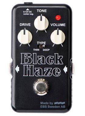 EBS (イービーエス)EBS-BH Black Haze – Distortion/Overdrive ディストーション・オーバードライブ