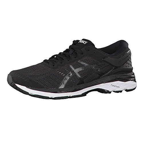 Asics Gel-Kayano 24, Zapatillas de Running Hombre, Negro (Black/Phantom/White 9016), 43.5 EU
