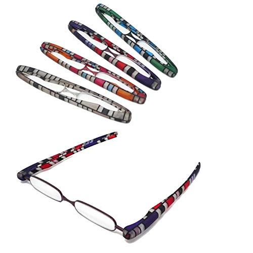 【ポッドリーダー スマート スリム】超軽量 コンパクトな折りたたみ式 老眼鏡 8色 +1.0〜+3.0 胸ポケットに入るサイズ Podreader