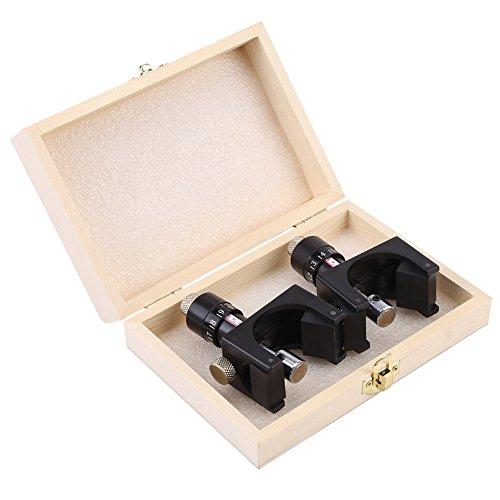 Cepilladora de cuchillas: herramienta de carpintería para calibrar la plantilla de cuchilla de cepilladora magnética, 2 piezas