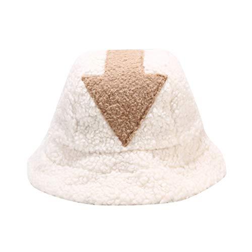taianle Sombrero de Pescador Unisex para Mujer Gorra de Pesca Disfraz de Invierno Gorra de Vestir Sombrero Esponjoso