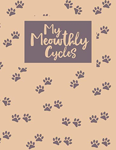 My Meowthly Cycles: period tracker Journal for young girls and teens to monitor PMS symptoms