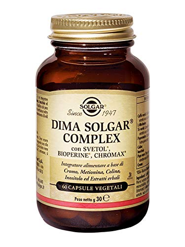 Dima Solgar Complex Integratore Alimentare 60 Capsule Vegetali