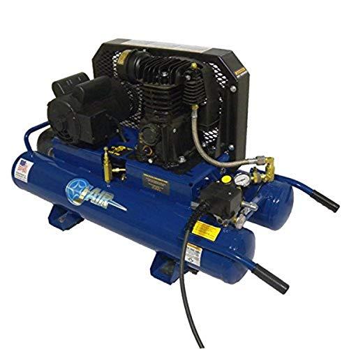 model air compressors J-AIR COMPRESSORS J103E15-9PDVDC Electric Wheeled Portable Model, 1.5 Hp, 115/230 Standard 9 gal