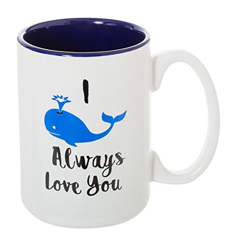 I Whale Always Love You - Large 15 oz Double-Sided Funny Coffee Tea Mug