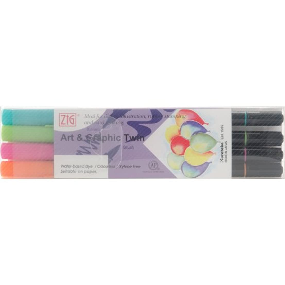 Zig Art and Graphic Twin Color Set, Summer