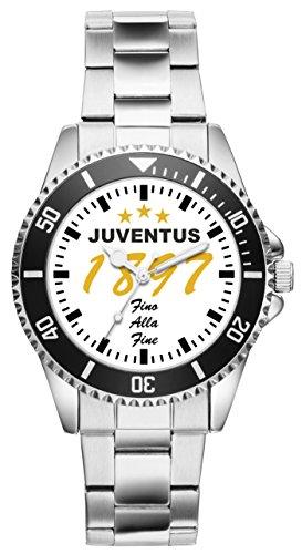 KIESENBERG Uhr - Geschenk für Juventus Fan Artikel Idee 6060