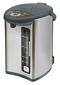 Zojirushi CD-WHC40XH Micom Water Boiler & Warmer 135 oz Stainless Gray