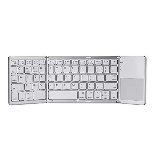 Bradoner Tastatur TRI-Fall-Falttastatur,...