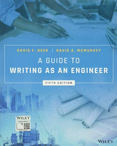 A Guide to Writing as an Engineer product image