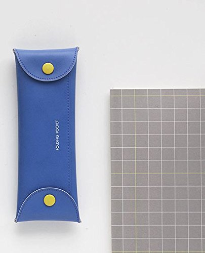 Stiftmappe, Federmappe - Folding Pocket V8 COBALT BLUE