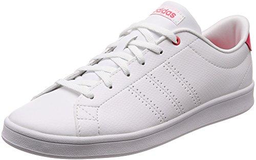 adidas Advantage Clean Qt Zapatillas de Tenis Mujer, Blanco (Ftwwht/Ftwwht/Shored 000), 36 2/3 EU (4 UK)