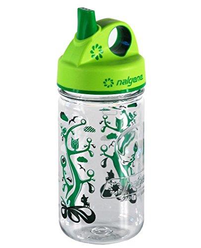 Nalgene Kinder Trinkflasche Everyday Grip-N-Gulp, Transparent, 0.35 Liter