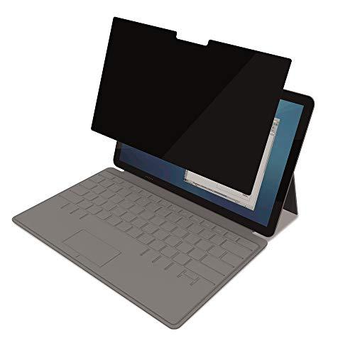 Fellowes PrivaScreen Blickschutzfilter und Bildschirmschutz für Surface Pro 3/4 (SLIM) - Einfach anbringen und abnehmen mit Quick Reveal Tabs, schwarz, 4819201