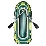 ZXQZ Kayac, Bote De Goma Inflable Engrosado para 2/3/4 Personas, Kayak Plegable para Adultos Que Pescan Rafting Al Aire Libre (Size : 198cm)