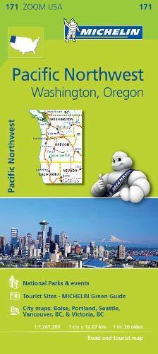 Mapa Zoom. Pacific Northwest (Mapa Zoom Michelin)
