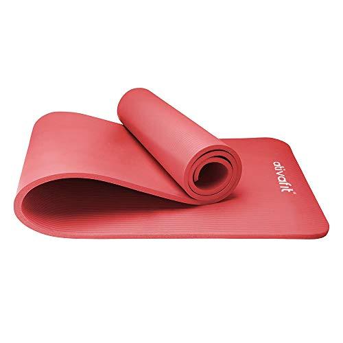 ATIVAFIT Atviafit Fitness Alfombrillas Esfera Confort - Espuma de Alta Densidad NBR- Yoga Colchoneta Antideslizante para Gimnasio 183 cm Largo x 61 cm Ancho x 1cm Espesor