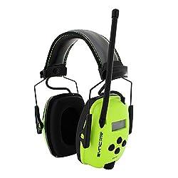cheap Howard Light, Honeywell Sync Digital AM / FM Radio Earmuffs, High Visibility (1030390), Bright …