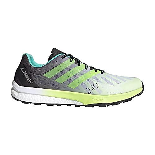 adidas Terrex Speed Ultra, Zapatillas de Trail Running Hombre, FTWBLA/Amasol/Plamat, 39 1/3 EU