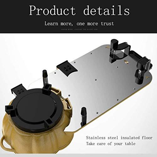 41Mz10cwhUL - CJTMY Multifunktionale Haushalt Elektro Hot Pot, Aluminium Qualitäts-Aluminiumlegierung + Edelstahl, Removable